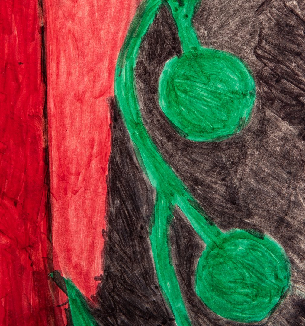 Lot 359: Willie White, Untitled Outsider Art