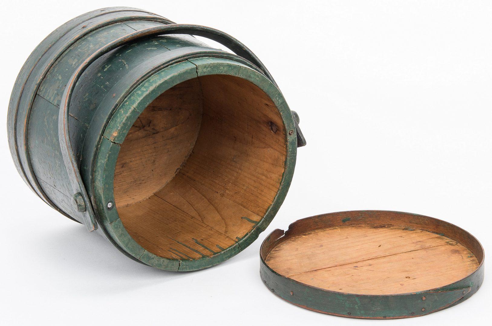 Lot 362: 5 Wood Storage Boxes, 1 Basket & 4 Toys