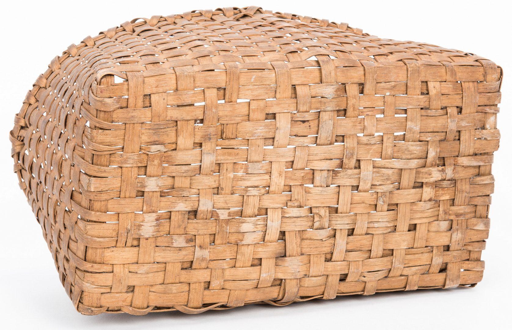Lot 363: 5 East TN Split Oak Baskets