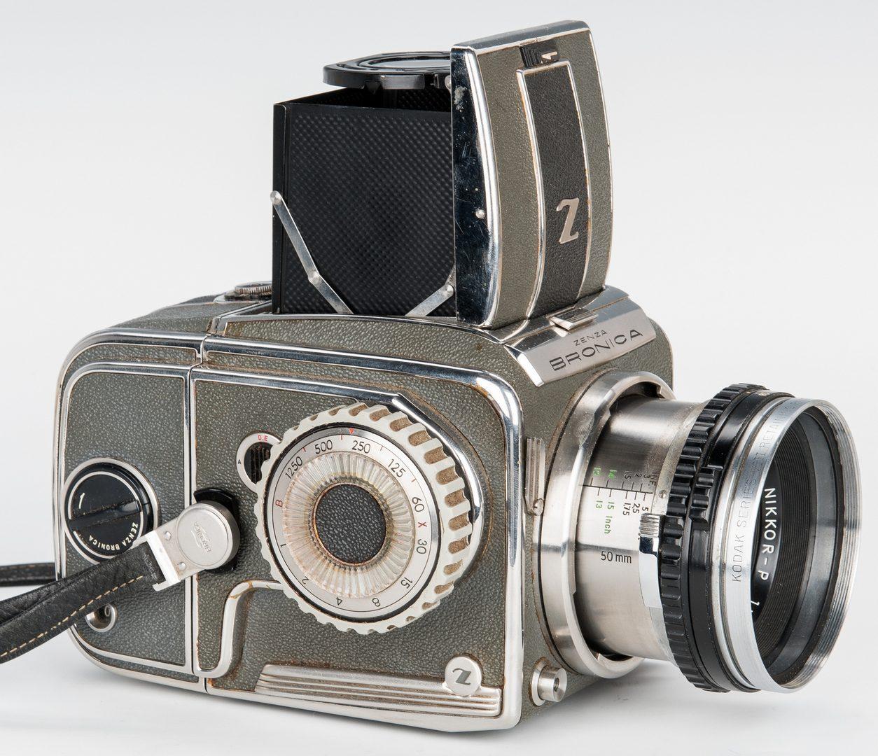 Lot 377: Zenza Bronica SQ Series Camera w/ Original Box
