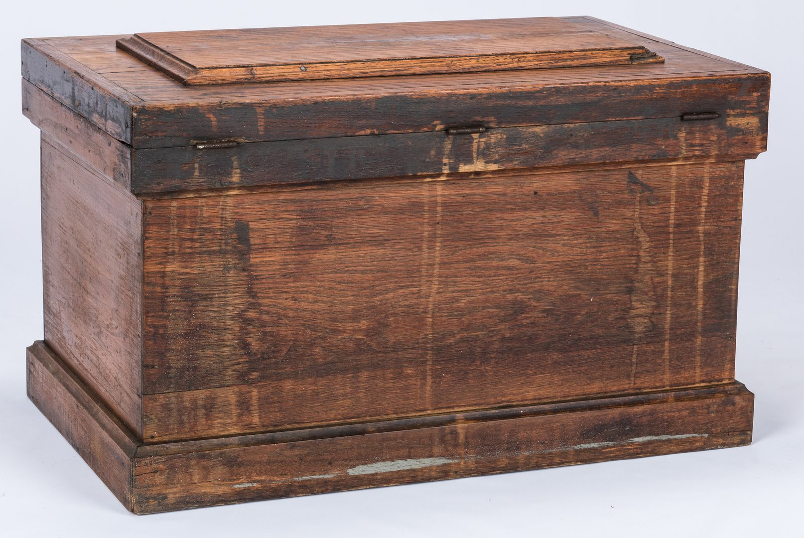 Lot 380: Oak Machinist's Chest