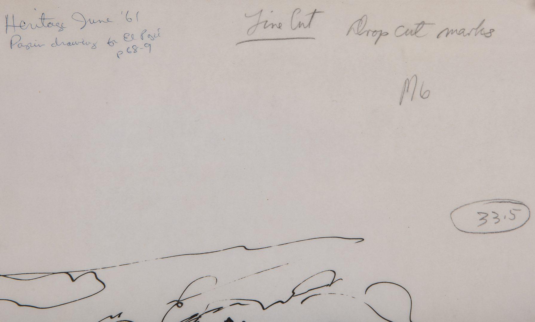 Lot 392: 3 Military Illustrations, incl. Houlihan, Papin