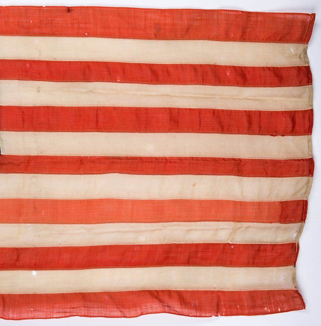 Lot 393: Spanish American War Era 45 Star American Flag