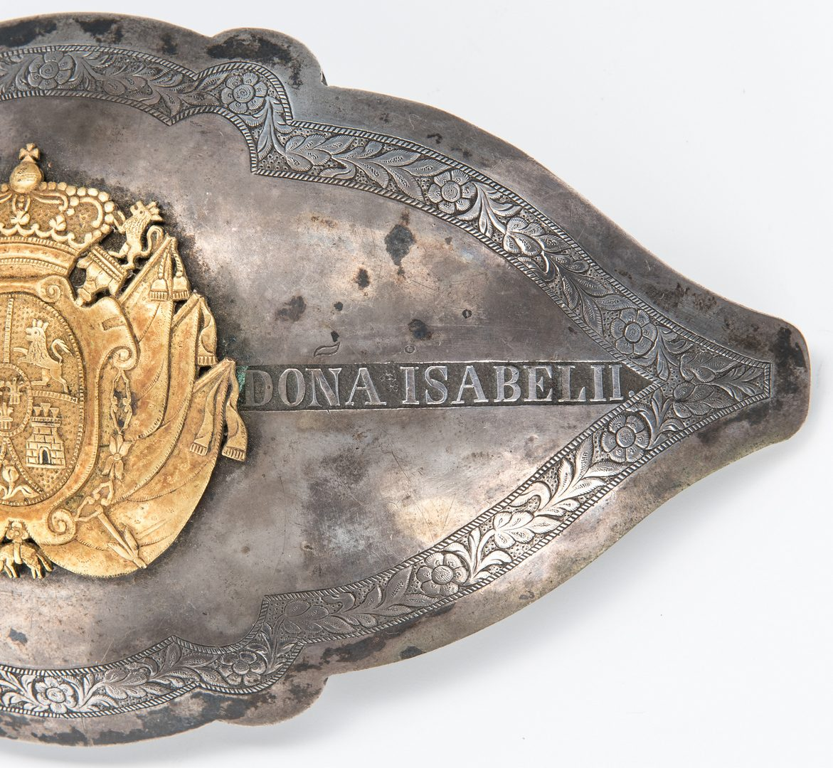 Lot 395: Spanish Belt Buckle
