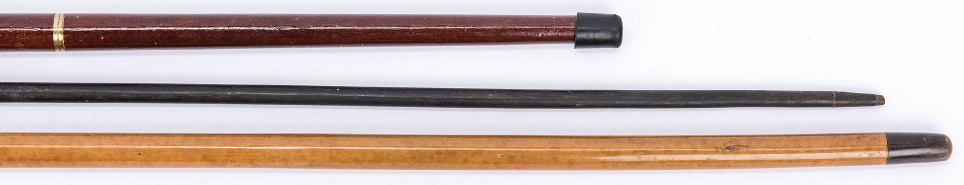 Lot 396: 3 Canes incl. 1st TN Infantry and Sword Cane