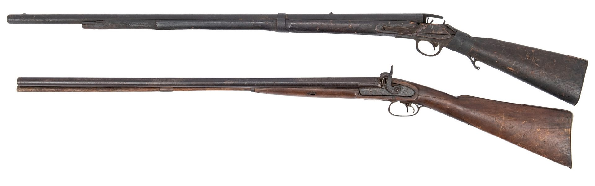 Lot 399: 2 Relic Early/Mid 19th C. Firearms, poss. NC Battlefield