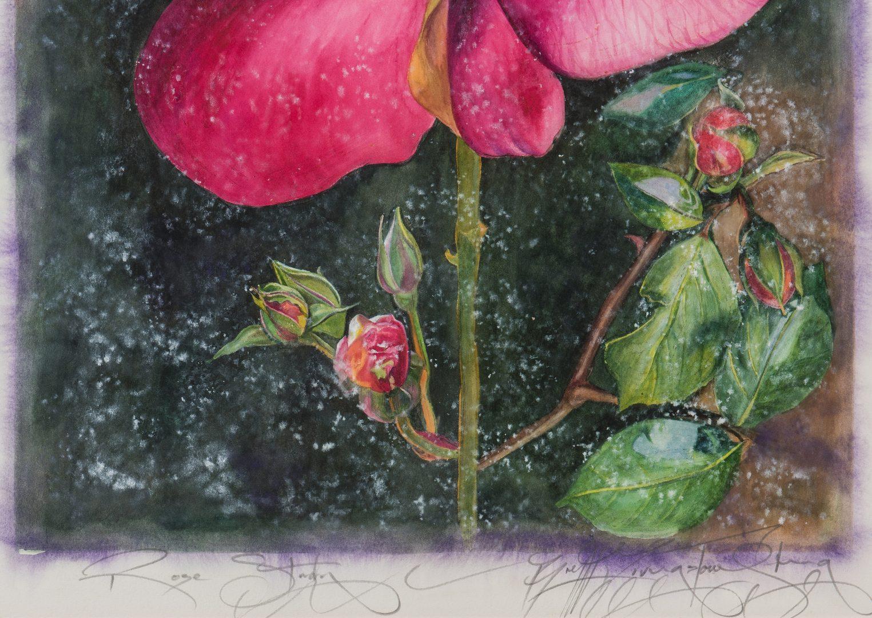 Lot 407: 2 B. Livingstone-Strong Watercolors, Les Fleurs