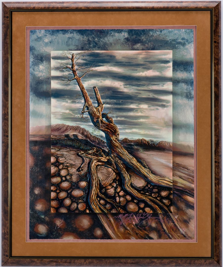 Lot 409: 3 Livingstone-Strong Limited Edition Serigraphs