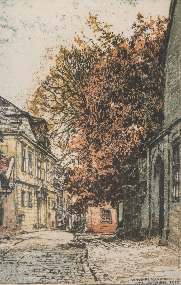 Lot 411: 4 Colored Prints incl. Kasimir, Sexauer, Graff