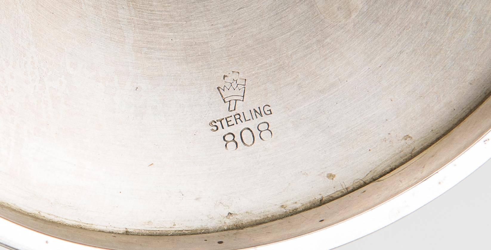 Lot 59: Set 12 Manchester Sterling Goblets