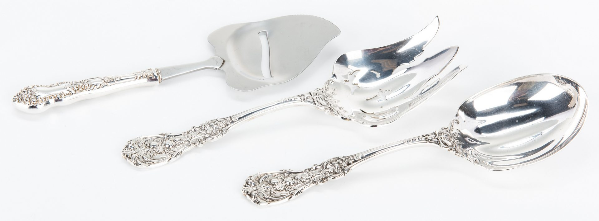 Lot 60: Reed & Barton Francis I Sterling Flatware, 90 pieces