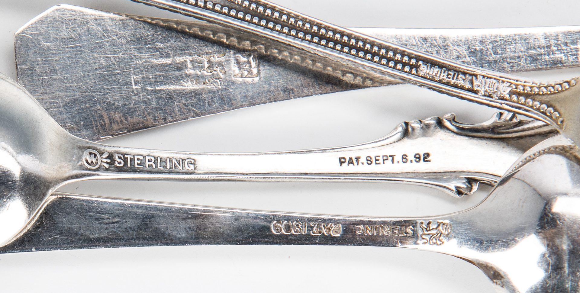 Lot 67: 31 pcs Flatware, jewelry inc. Fuhrerbau