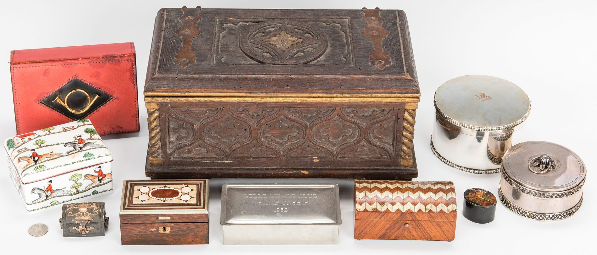 Lot 72: Group of 10 Assorted Decorative Boxes