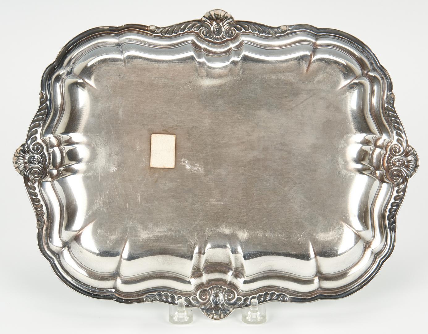 Lot 1037: International Sterling Silver Oblong Tray