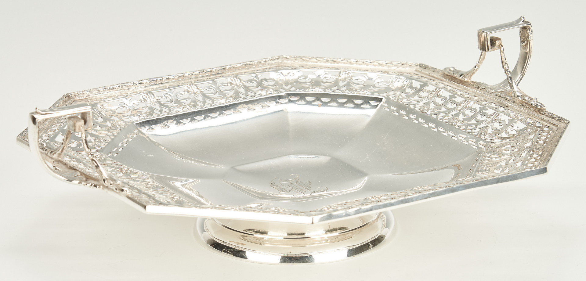 Lot 1038: Gorham Sterling Silver Compote
