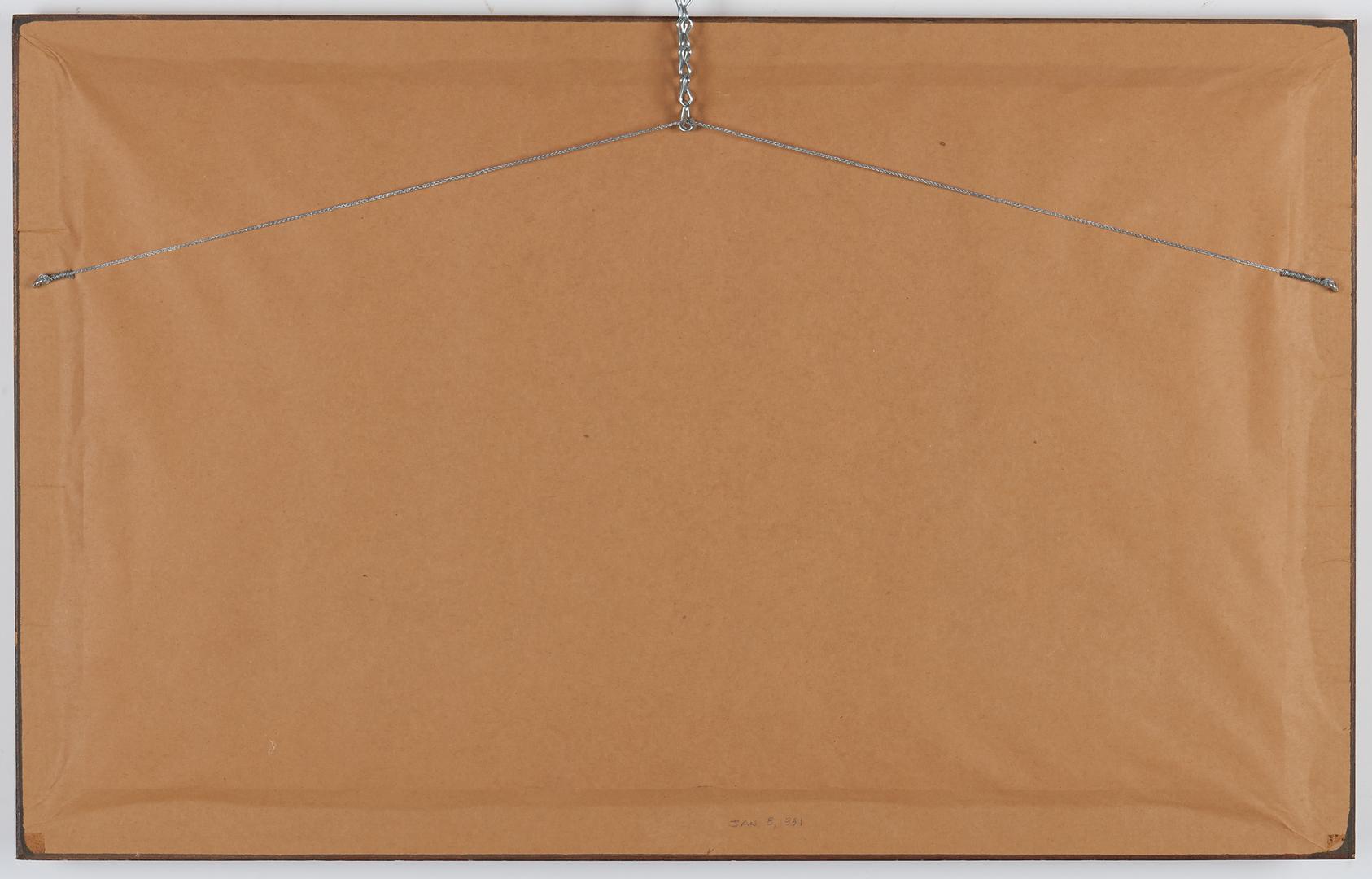 Lot 103: William Trost Richards Watercolor, Naragansett Bay