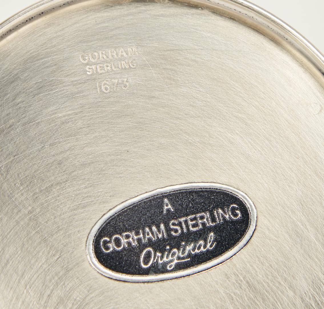 Lot 1042: 4 Sterling Silver Julep Cups, Gorham &  Newport