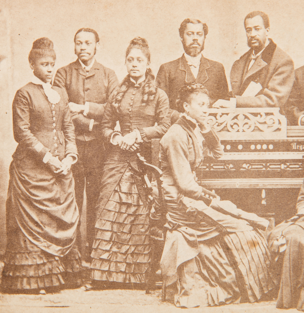 Lot 1050: Fisk University, TN Jubilee Singers Cabinet Card