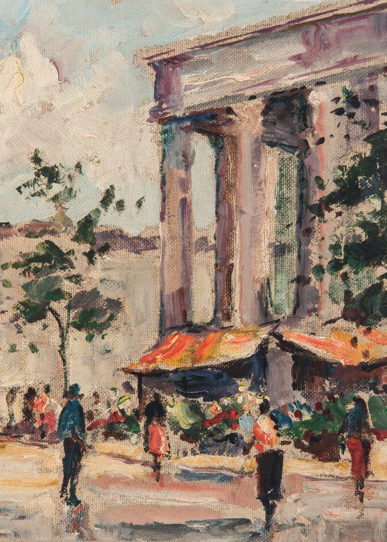 Lot 1059: Andre Picot O/B, Parisian Street Scene