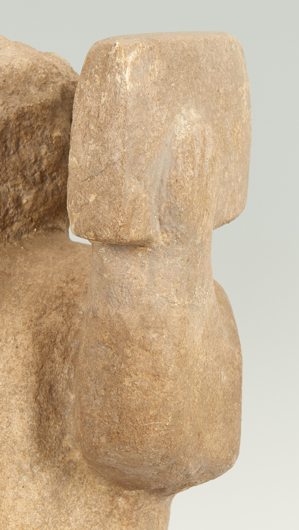 Lot 126: William Edmondson Sculpture, The Preacher