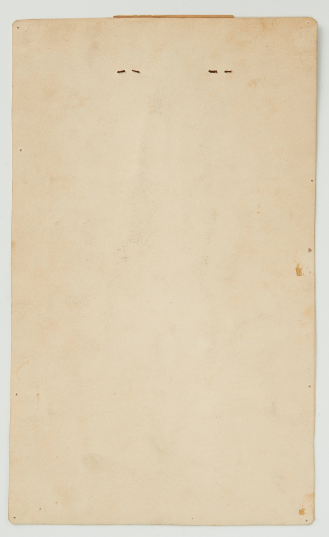 Lot 130: Carroll Cloar Signed Calendar and Cards