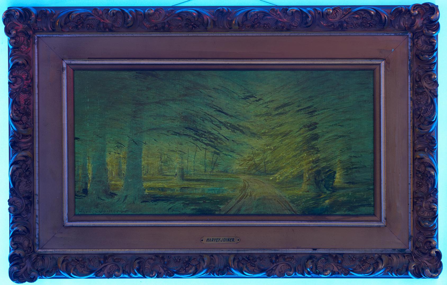 Lot 140: Harvey Joiner O/B Forest Landscape