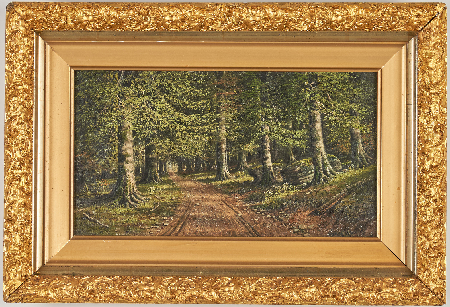 Lot 142: William M. Snyder O/C Forest Road Landscape