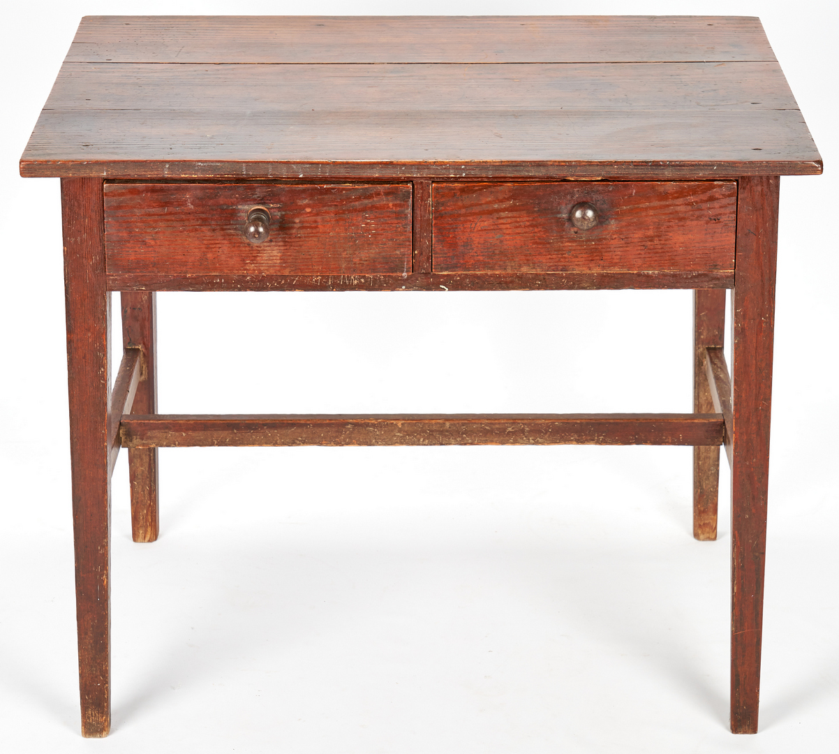 Lot 150: Southern Yellow Pine 2-Drawer Work Table