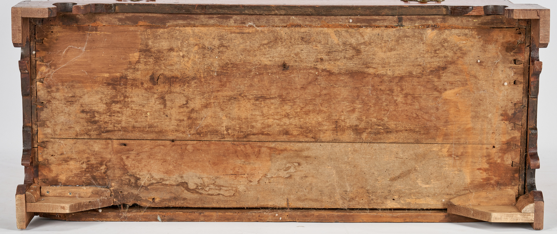 Lot 163: Southern Inlaid Chest of Drawers