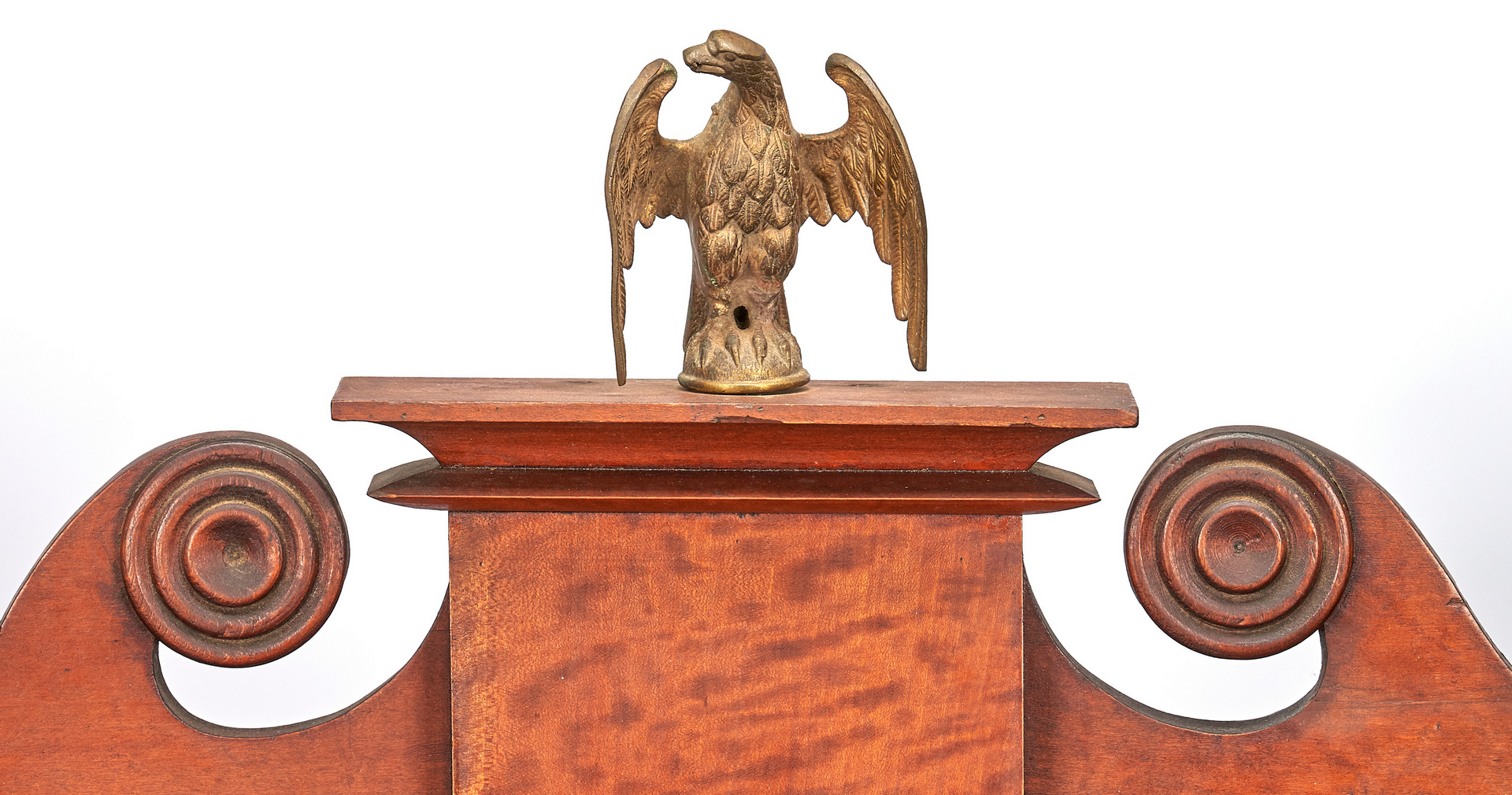 Lot 165: Middle TN Classical Chest of Drawers, Eagle Finial