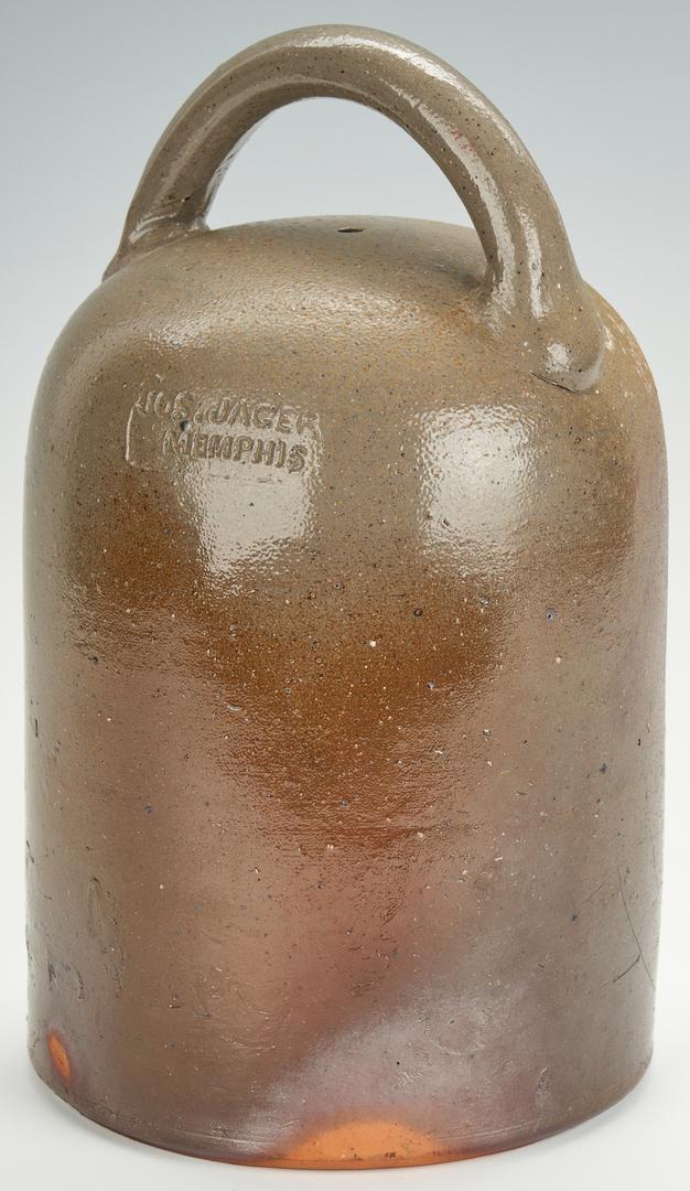 Lot 171: Memphis TN Stoneware Pottery Bank
