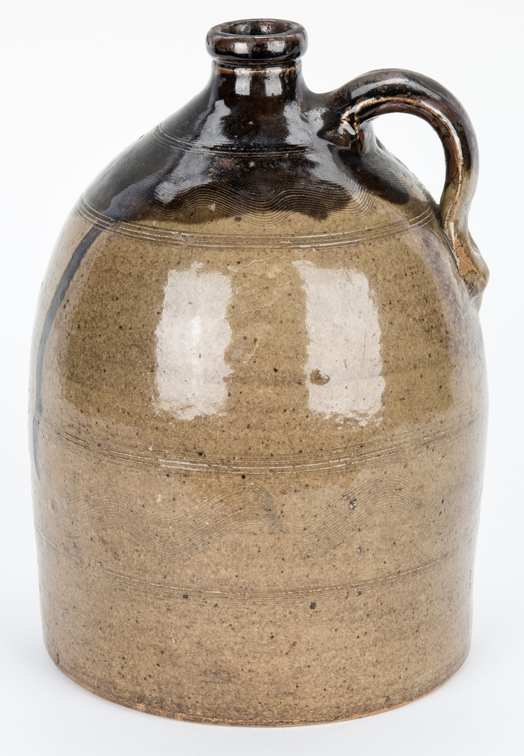 Lot 187: Sand Mountain Alabama Double Dip Pottery Jug