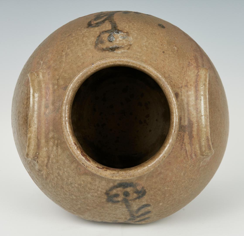 Lot 191: Decorated Edgefield, SC Stoneware Jar