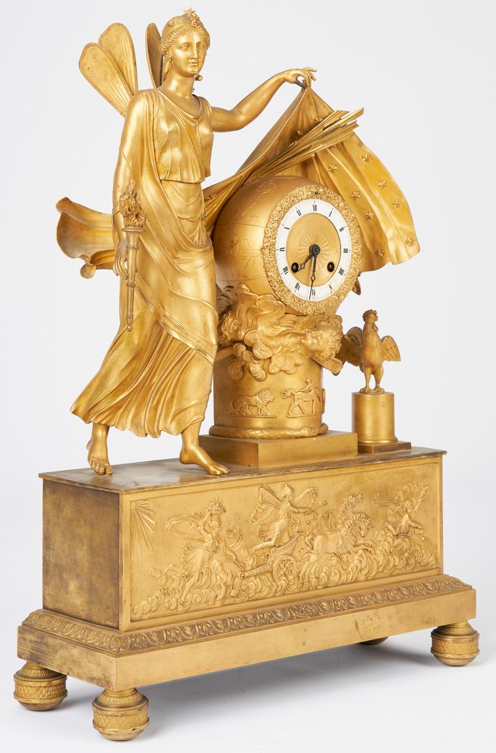 Lot 199: French Ormolu Figural Clock, Astor history