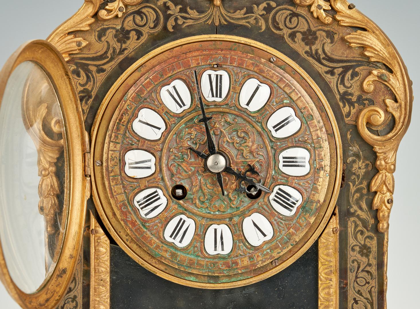 Lot 201: Louis XV Style Raingo Freres, Paris Bracket Clock