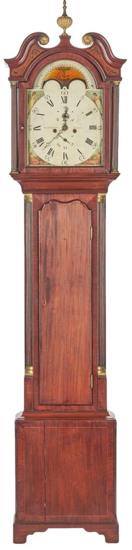 Lot 203: Scottish Tall Case Clock, John Dickman