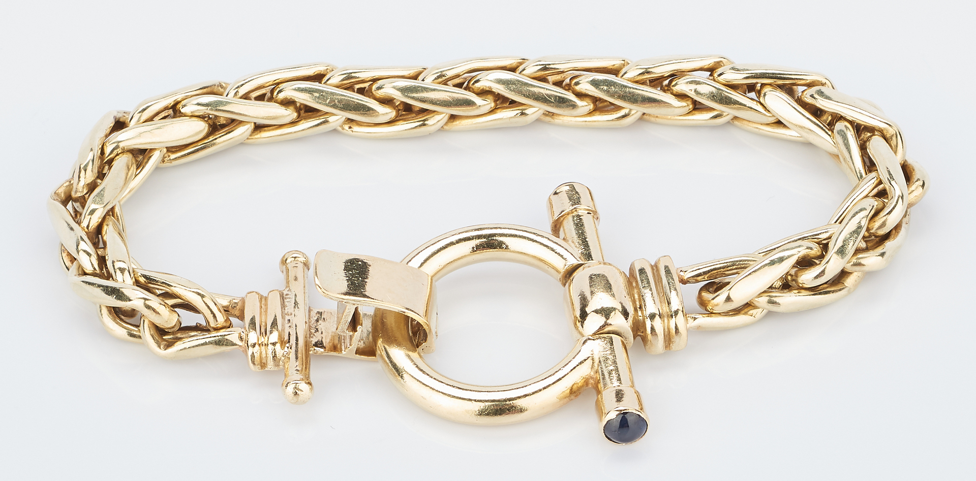 Lot 224: 2 Ladies 14K Bracelets