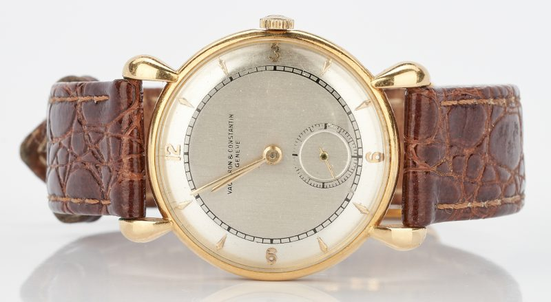 Lot 231: Men's 18K Vacheron & Contantin Wristwatch
