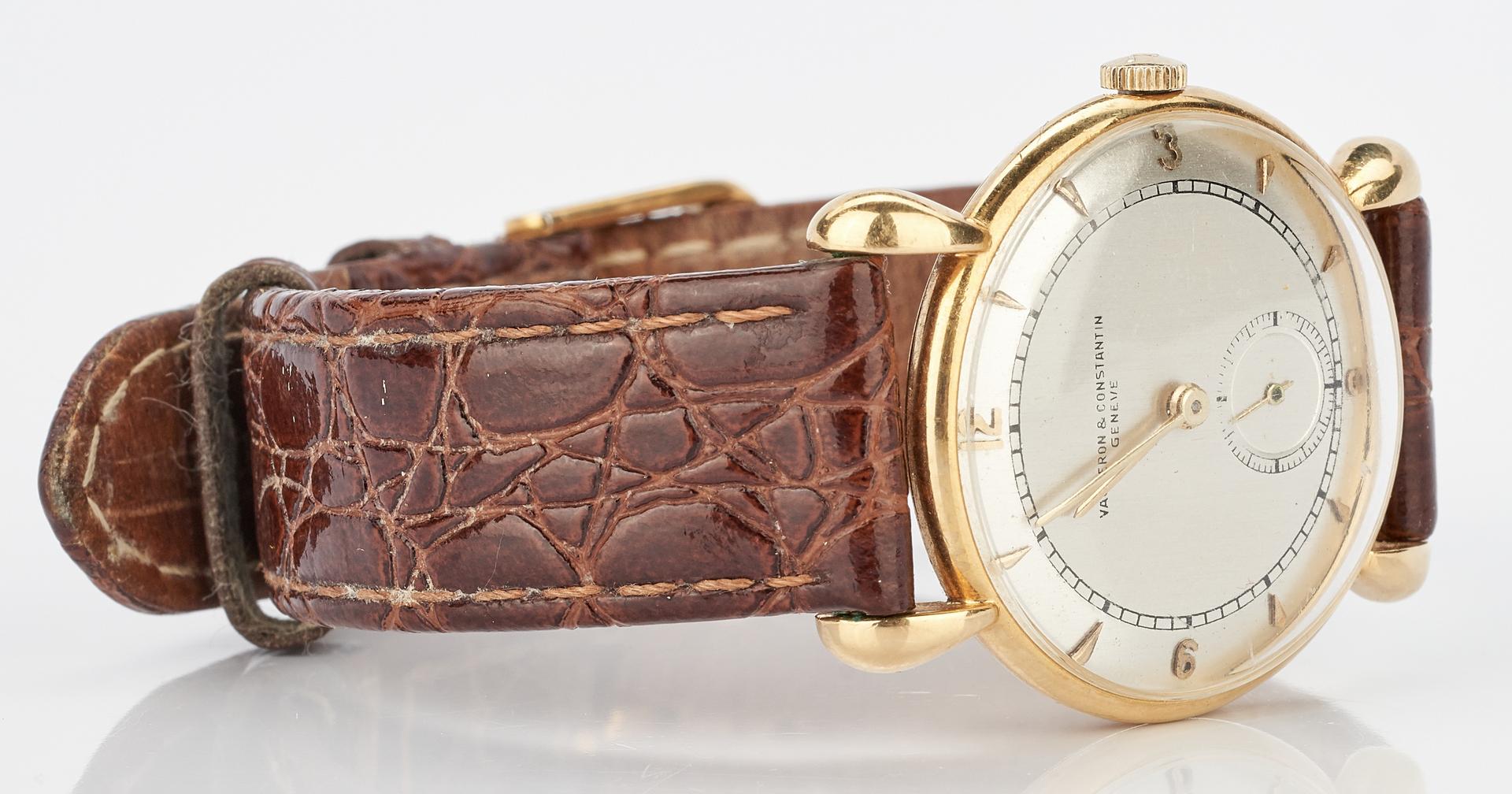 Lot 231: Men's 18K Vacheron & Contantin Wristwatch