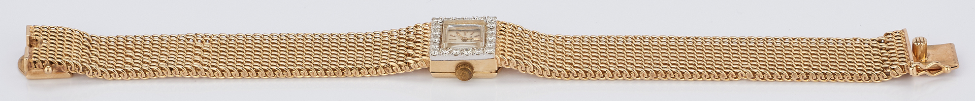 Lot 233: Ladies 14K Yellow Gold Movado Watch