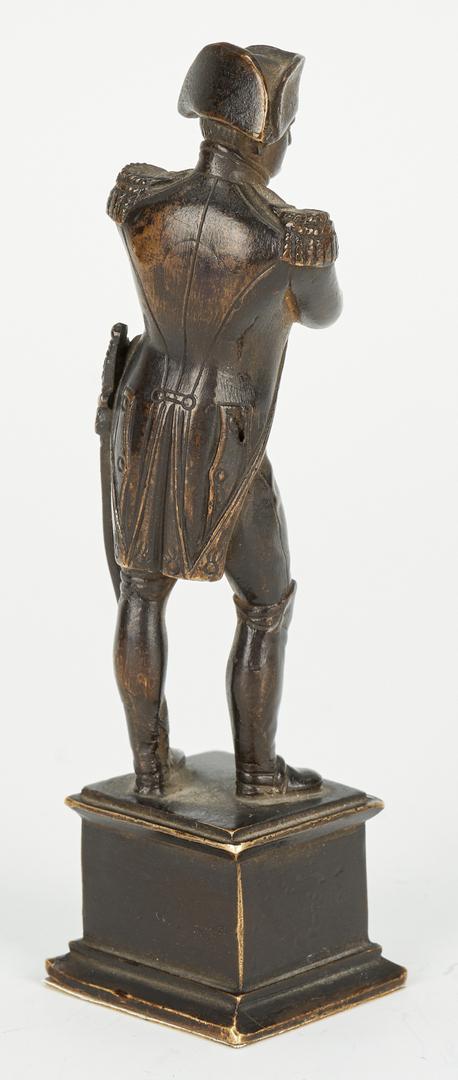 Lot 246: Four Napoleon Related Bronzes