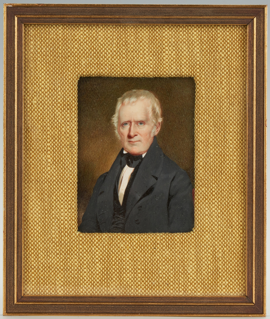 Lot 247: Miniature Portrait of Robert Maitland