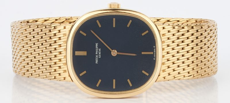 Lot 24: Men's 18K Yellow Gold Patek Philippe Watch