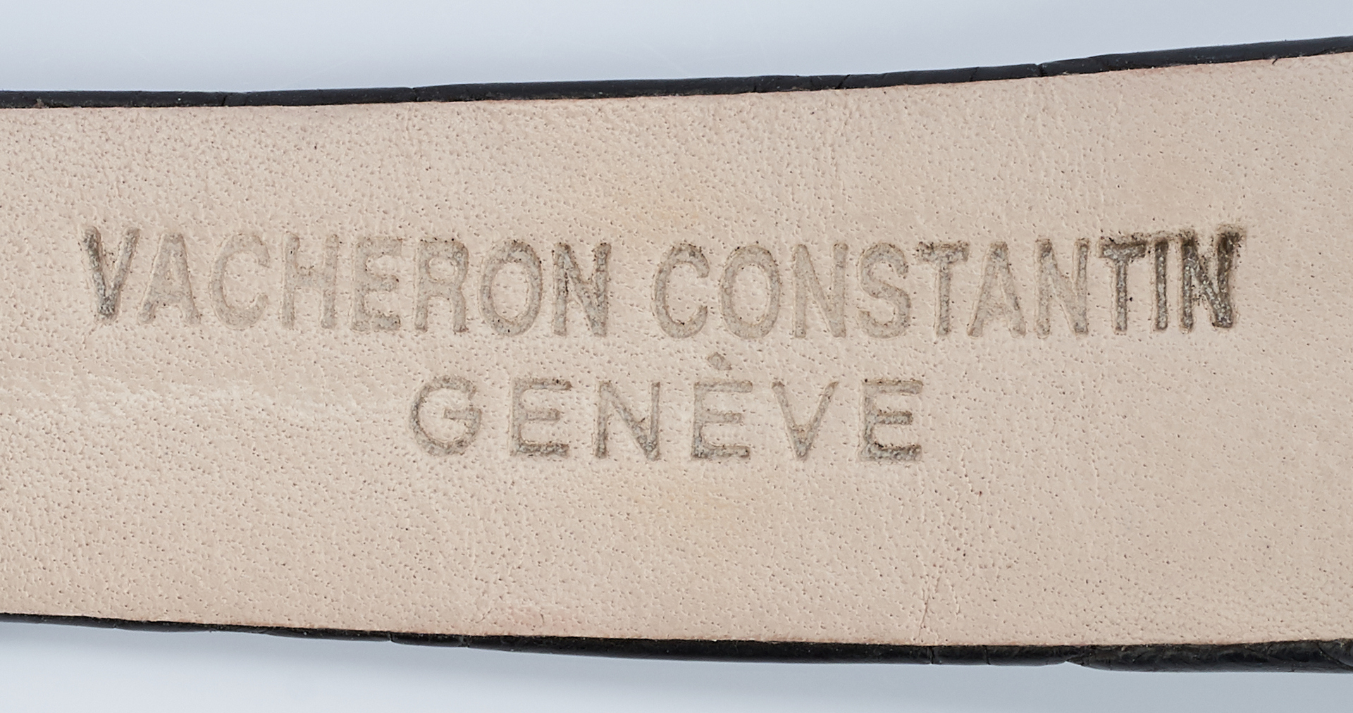 Lot 27: 18K Men's Vacheron Constantin Geneve Watch