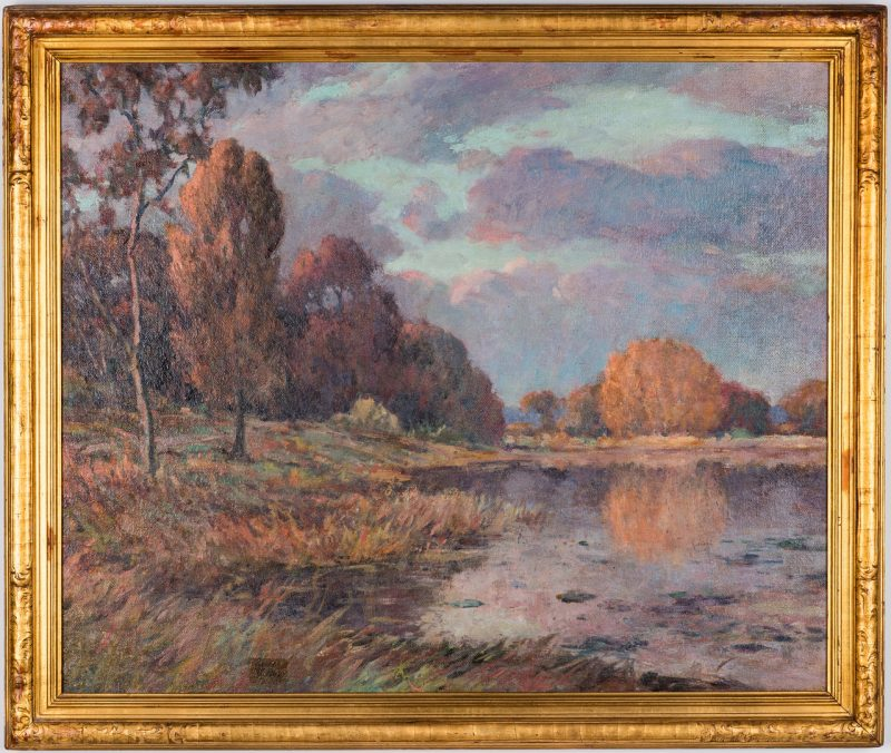 Lot 285: Ellsworth Young O/B Impressionistic Landscape