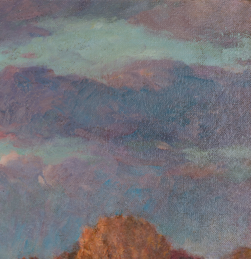 Lot 285: Ellsworth Young O/B Impressionistic Landscape