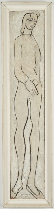 Lot 288: Sterling Strauser Figure Painting