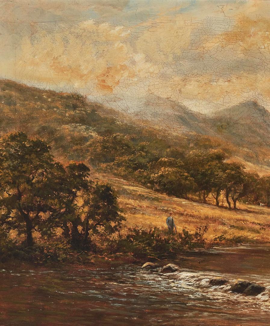 Lot 293: Benjamin Williams Leader O/C, River Landscape