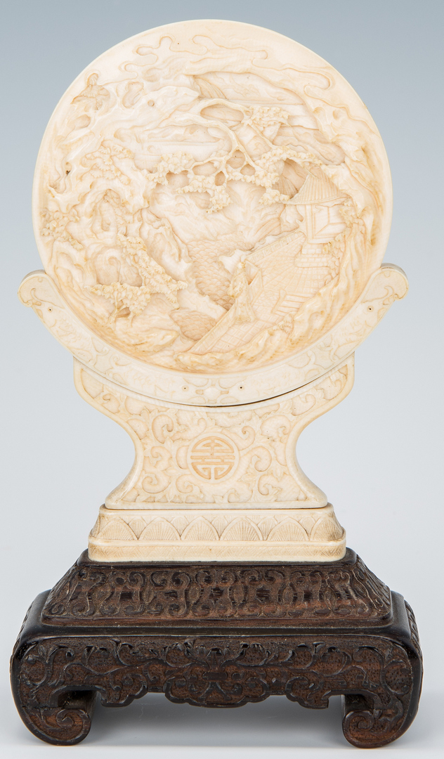 Lot 325: 3 Chinese Carved Items