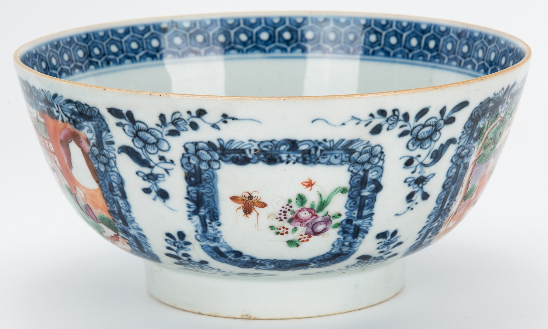 Lot 326: 3 Chinese Porcelain Items & 1 Chinese Hardstone Seal